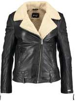 Maze VISTA Leather jacket black