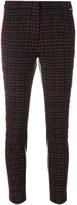 Liu Jo slim textured trousers