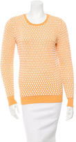Jonathan Saunders Patterned Crew Neck Sweater