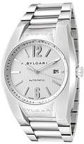 Bulgari Men's Diagono Mechanical/Automatic Textured Dial Stainless Steel