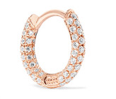 Maria Tash - 18-karat Rose Gold Diamond Earring - one size