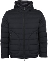 Herno Navy Reversible Quilted Shell Coat