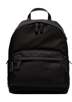 Prada Classic Logo Plaque Backpack