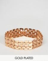 Pilgrim Gold Plated Chunky Bracelet
