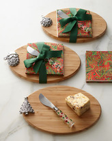 Cutting Board with Christmas Tree