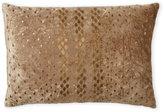 cloud 9 Gold Metallic Diamonds Oblong Pillow