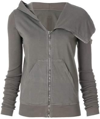 Rick Owens Asymmetric zipped jacket
