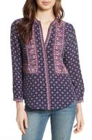 Joie Women's Aisa Silk Blouse