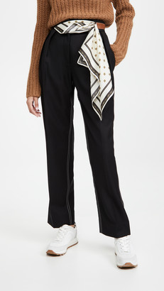 By Any Other Name Scarf Belt Trousers