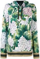 Dolce & Gabbana floral hooded sweatshirt