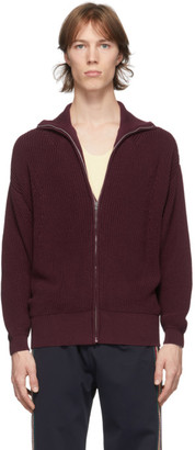 Judy Turner Burgundy Knit Clark Cardigan