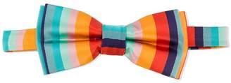 Paul Smith striped print bow tie