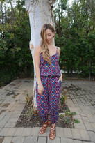 Tysa Claudette Jumpsuit In Gateway Birds Of Paradise
