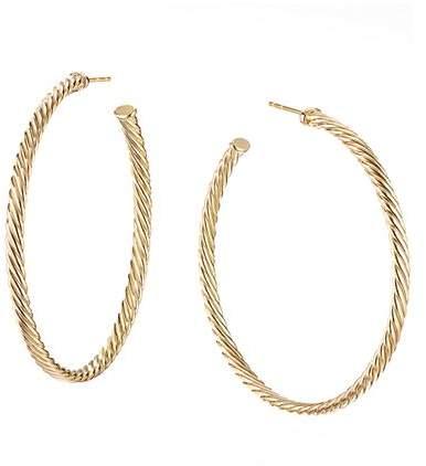854dd2ec1 David Yurman Gold Earrings - ShopStyle