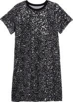 Treasure & Bond Sequin T-Shirt Dress