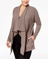 Calvin Klein Plus Size Draped Cardigan