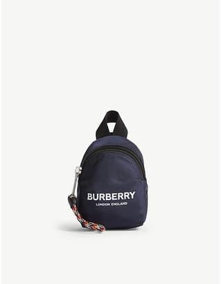 Burberry Mini backpack bag charm