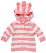 David Jones Girls Stripe Hooded Cardigan (000 - 0)