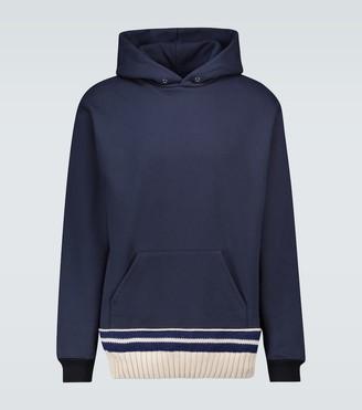 Maison Margiela Brushed striped sweatshirt