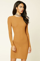 Forever 21 FOREVER 21+ Ribbed Knit Bodycon Dress