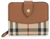Burberry Women's 'Finsbury' Horseferry Check Wallet - Brown