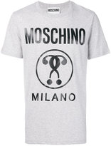 Moschino Milano signature T-shirt