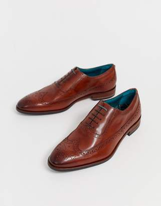 Ted Baker Asonce brogues in tan leather