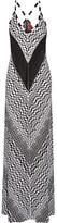 Missoni Crochet-knit Maxi Dress - Black