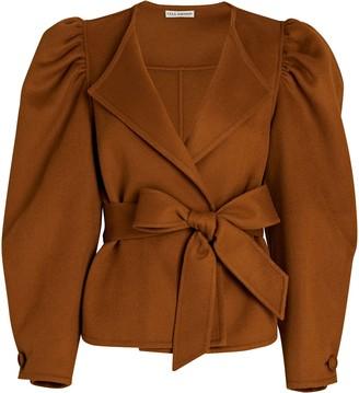 Ulla Johnson Maxine Puff Sleeve Wool Jacket