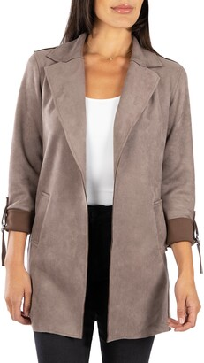 KUT from the Kloth Faux Suede Coat