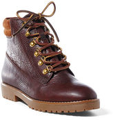 Ralph Lauren Mikelle Tumbled Leather Boot