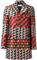 RED Valentino geometric print coat