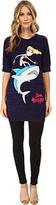 Love Moschino I Love Sharks T-Shirt Women's T Shirt