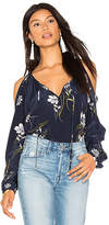 Yumi Kim Morning Glory Blouse in Blue. - size S (also in XS)