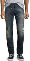 Diesel Krooley 0678J Destroyed JoggJeans, Blue
