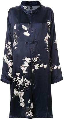Y's Floral Print Dress