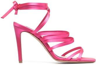 Pinko Tie-Fastening Strappy Sandals