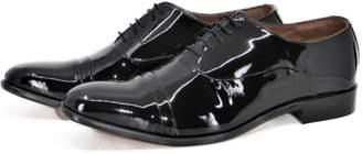 Curito Clothing Curito Dorchester Men's Patent Leather Formal Oxford Shoes - Black