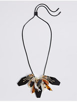 M&S Collection Caramel Bunch Necklace