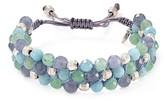 Chan Luu Triple Row Beaded Bracelet