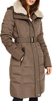 Phase Eight Deasia Long Diamond Puffer Coat, Mink