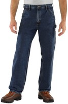 Carhartt Washed Work Dungarees - Loose Original Fit, Factory 2nds (For Big and Tall Men)