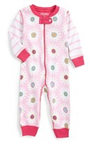 Hatley Infant Girl's Daisy Fitted One-Piece Pajamas