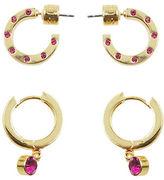 Kensie Hug Hoop Earrings