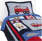 Pem America Fireman Twin Quilt with Pillow Sham
