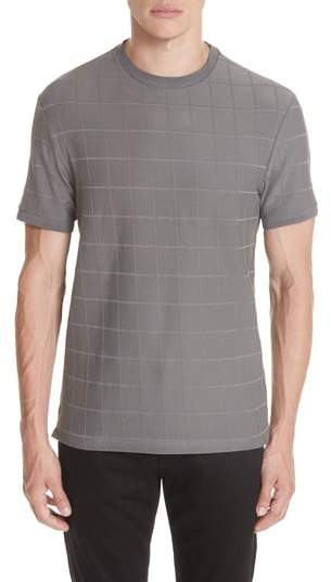 Emporio Armani Stripe Stretch Crewneck T-Shirt