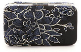 Tadashi Shoji Floral-Appliqued Clutch