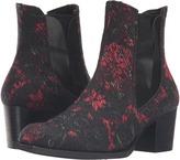 Y Side Gore Heel Boots