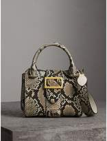 Burberry The Small Buckle Tote in Python