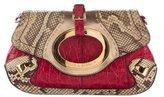 Dolce & Gabbana Python & Crocodile Shoulder Bag